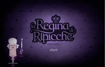 screen shot del gioco della regina